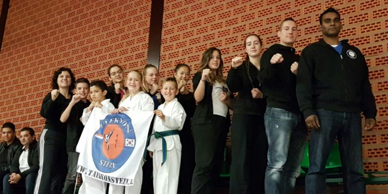 District Zuid Kampioenschap poomsae en sparring