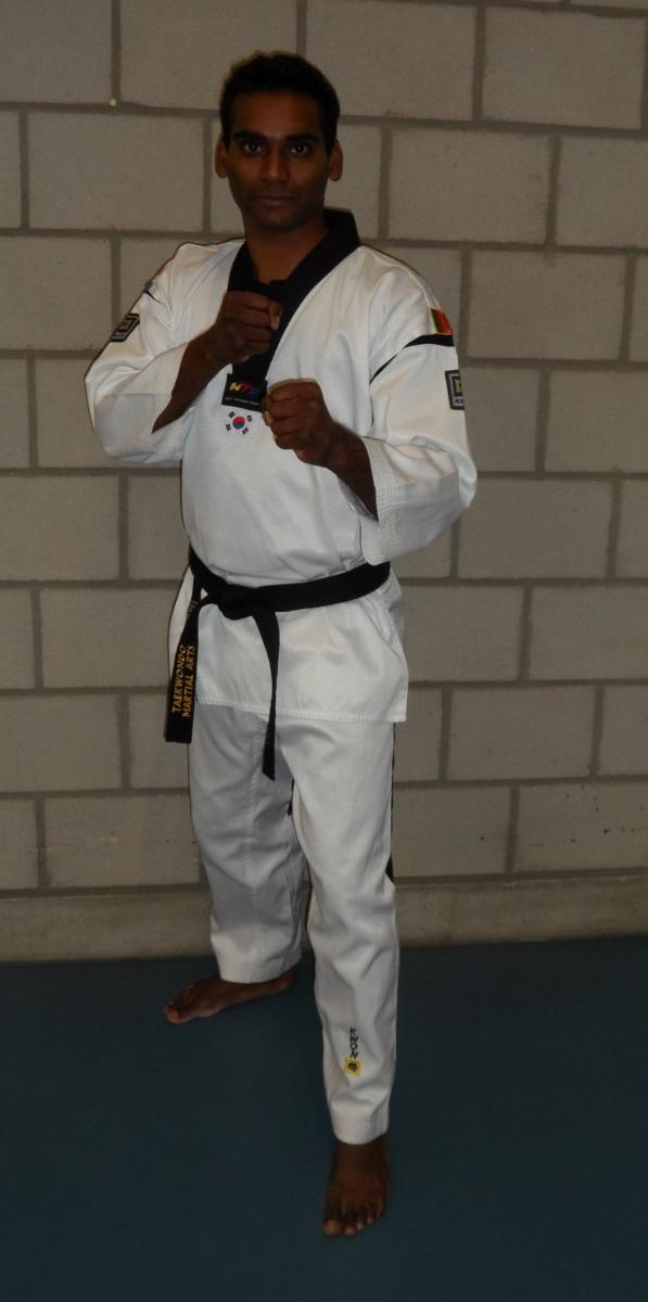 Assistent trainer Djuri Lavain - 1e dan